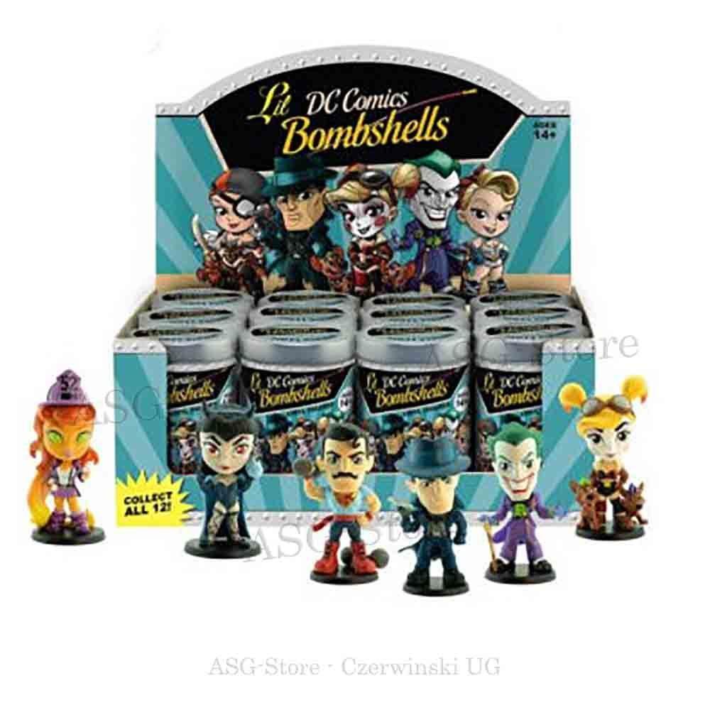 DC-Comics Lil Bombshells Series 3 Mystery-Dose