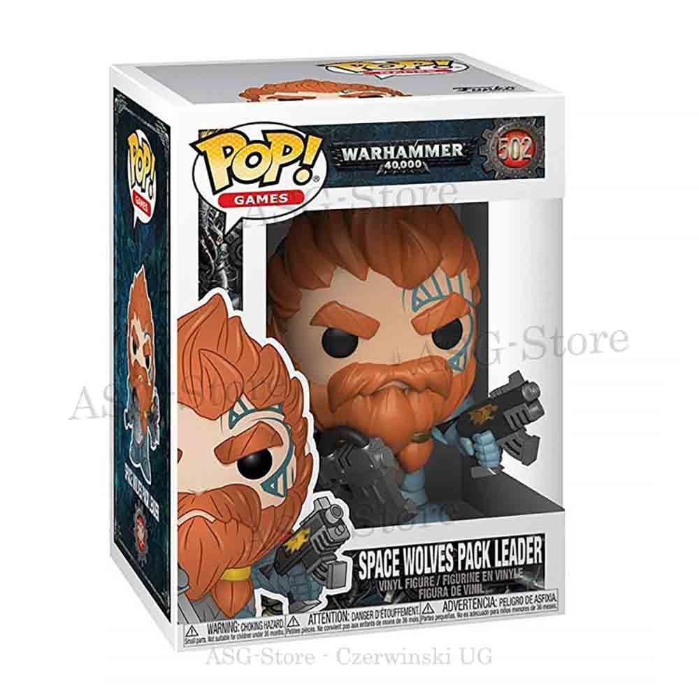 Funko Pop Games 502 Warhammer 40K Space Wolves Pack Leader