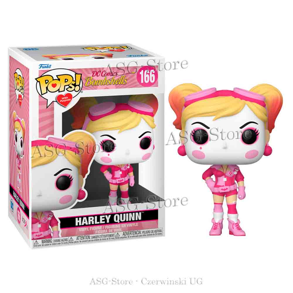 Funko Pop DC Comics 166 Breast Cancer Awareness- Bombshell Harley Quinn