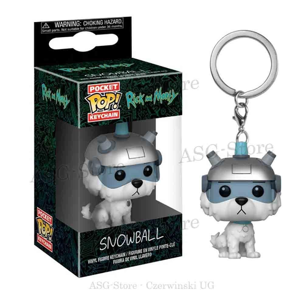 Funko Pocket Pop Keychain Rick and Morty Snowball