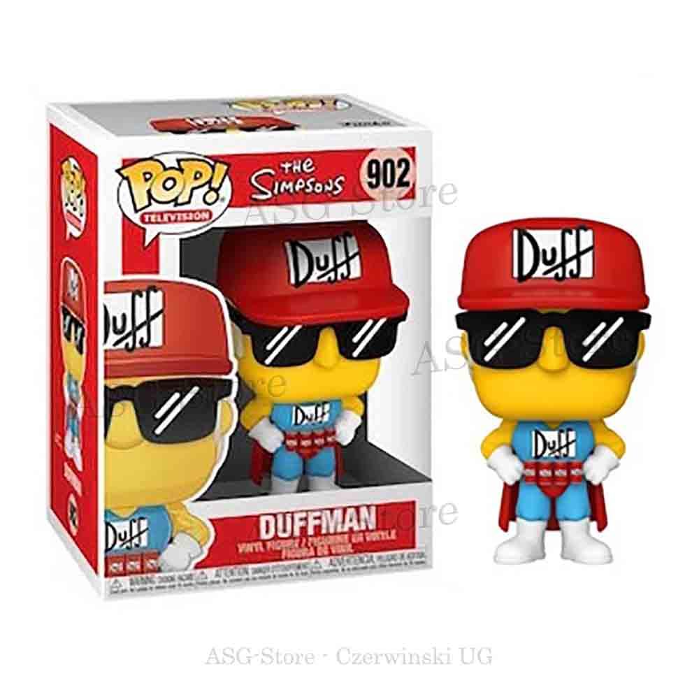 Funko Pop Television 902 Die Simpsons Bart Duffman