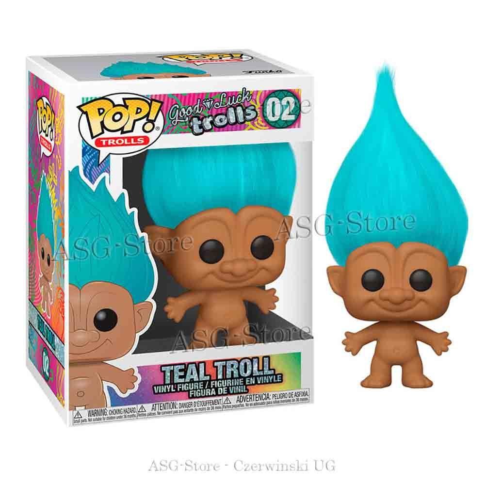 Funko Pop Trolls 02 Teal Troll
