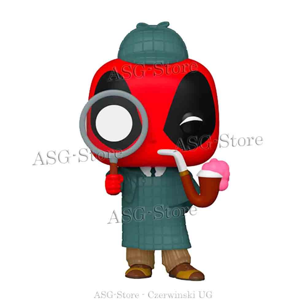 Funko Pop Marvel 784 Deadpool 30th Sherlock Deadpool Special Edition