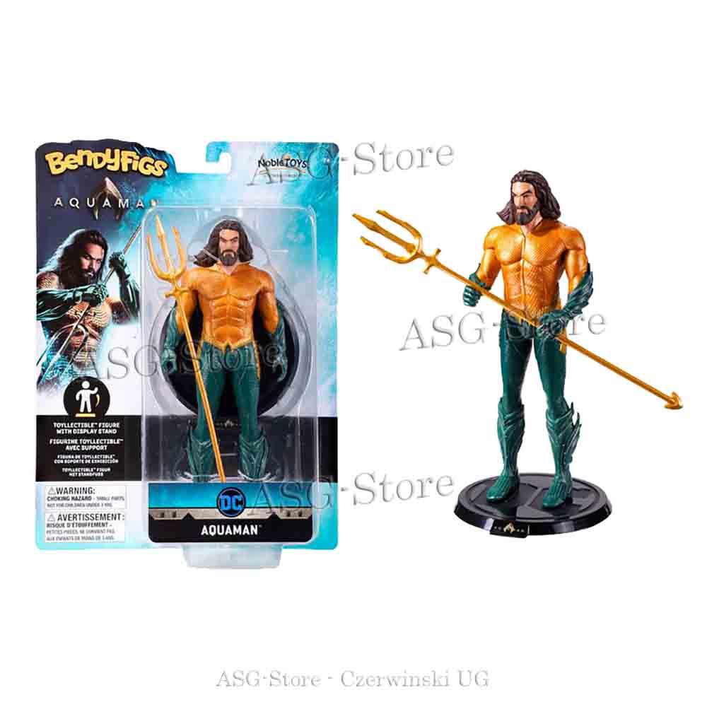 DC Comics - Aquaman als Bendyfigs Biegefigur