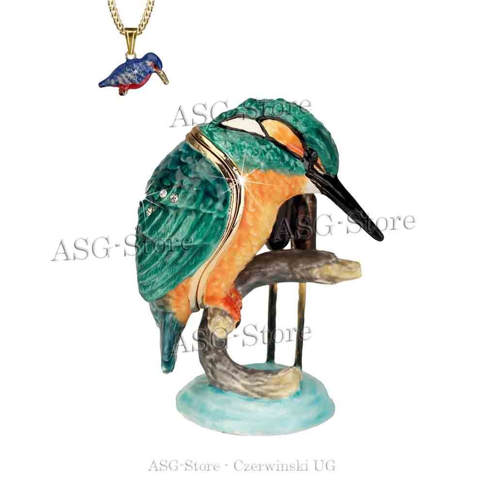 """Secrets"" from Hidden Treasures Kingfisher / Eisvogel"
