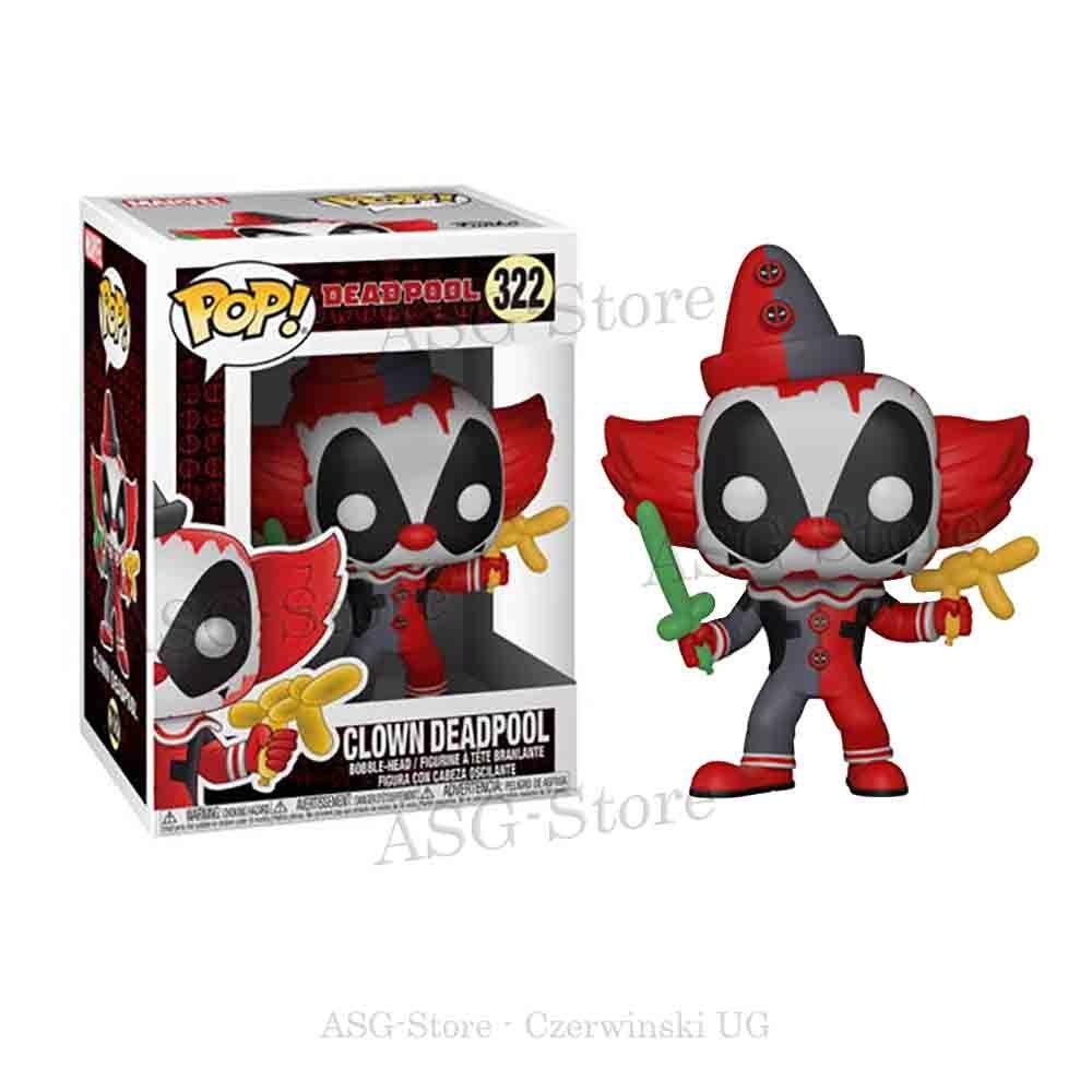 Funko Pop 322 Deadpool Clown Deadpool