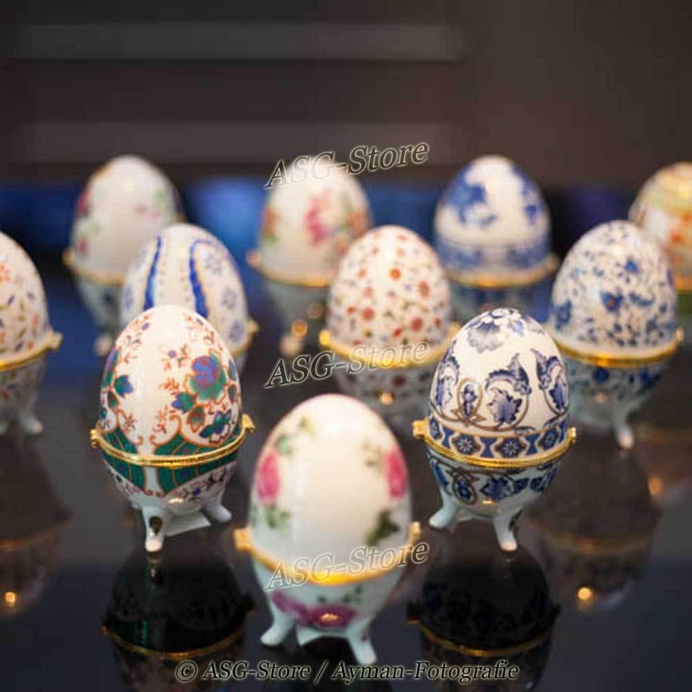 Schmuckei / Fabergé-Eier in verschiedenen Designs (Motive 7 - 12)