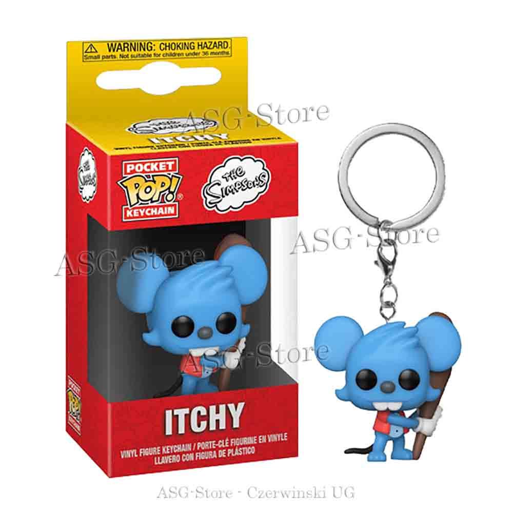 Funko Pocket Pop Keychain Die Simpsons Itchy