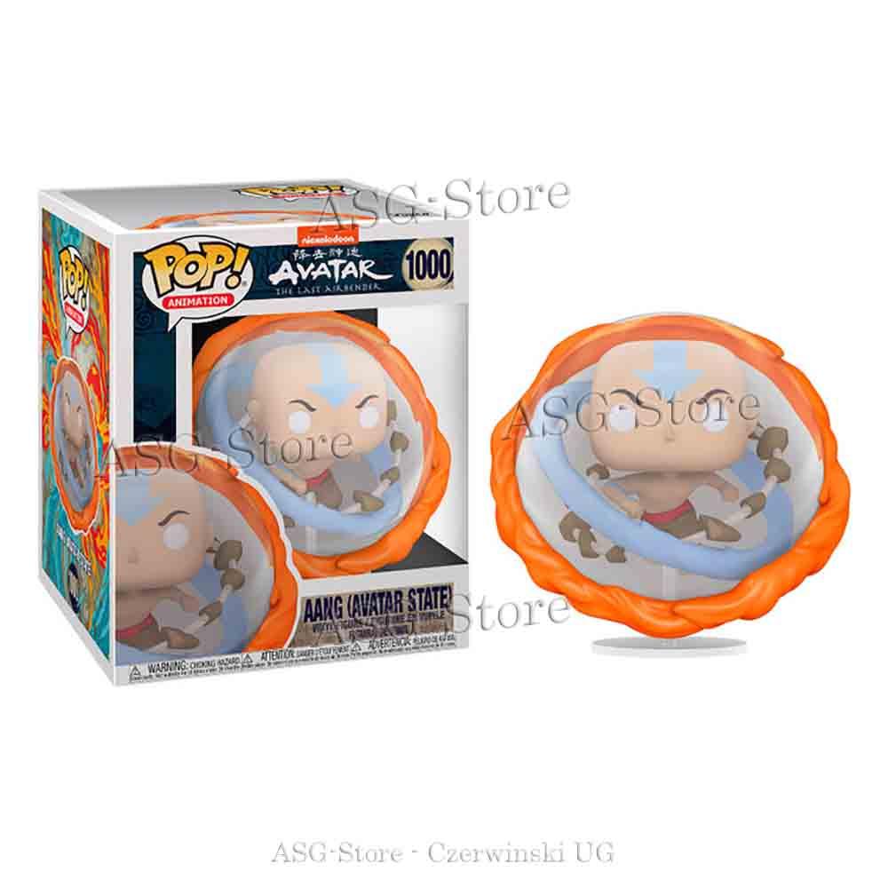 Funko Pop Animation 1000 Avatar Aang (Avatar State)