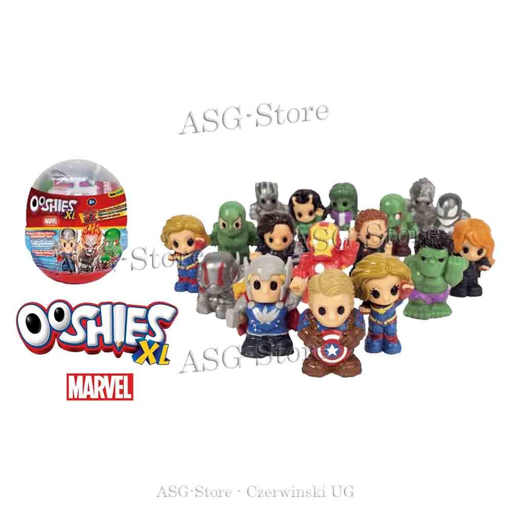 Ooshies XL Serie 1 Marvel 1 von 32 Sammlerfiguren im Blind Egg