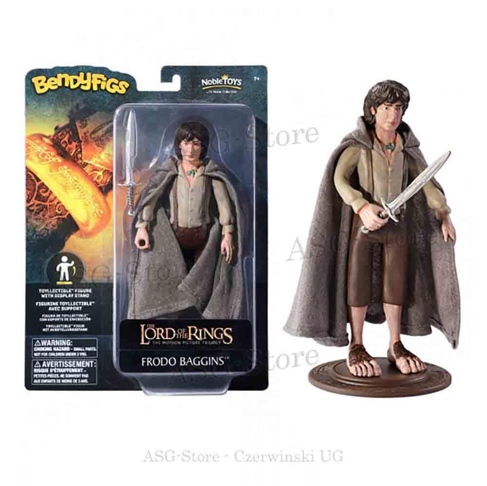 Der Herr der Ringe - Frodo Beutlin als Bendyfigs Biegefigur