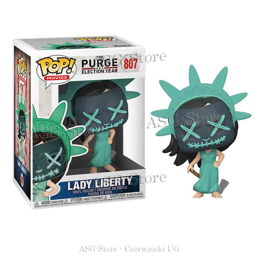 Funko Pop Movies 807 The Purge Election Year Lady Liberty