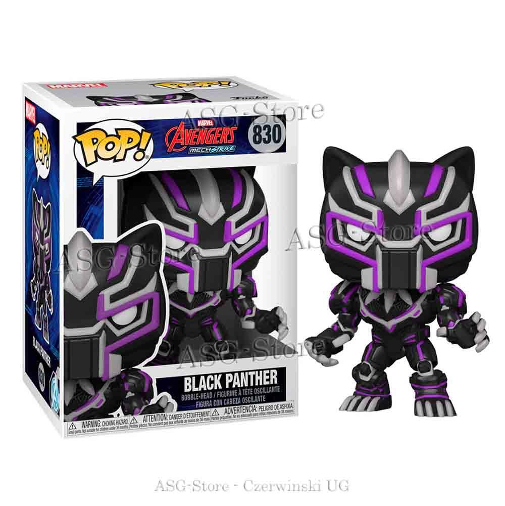Funko Pop Marvel 830 Avengers  Merch Strike Black Panther