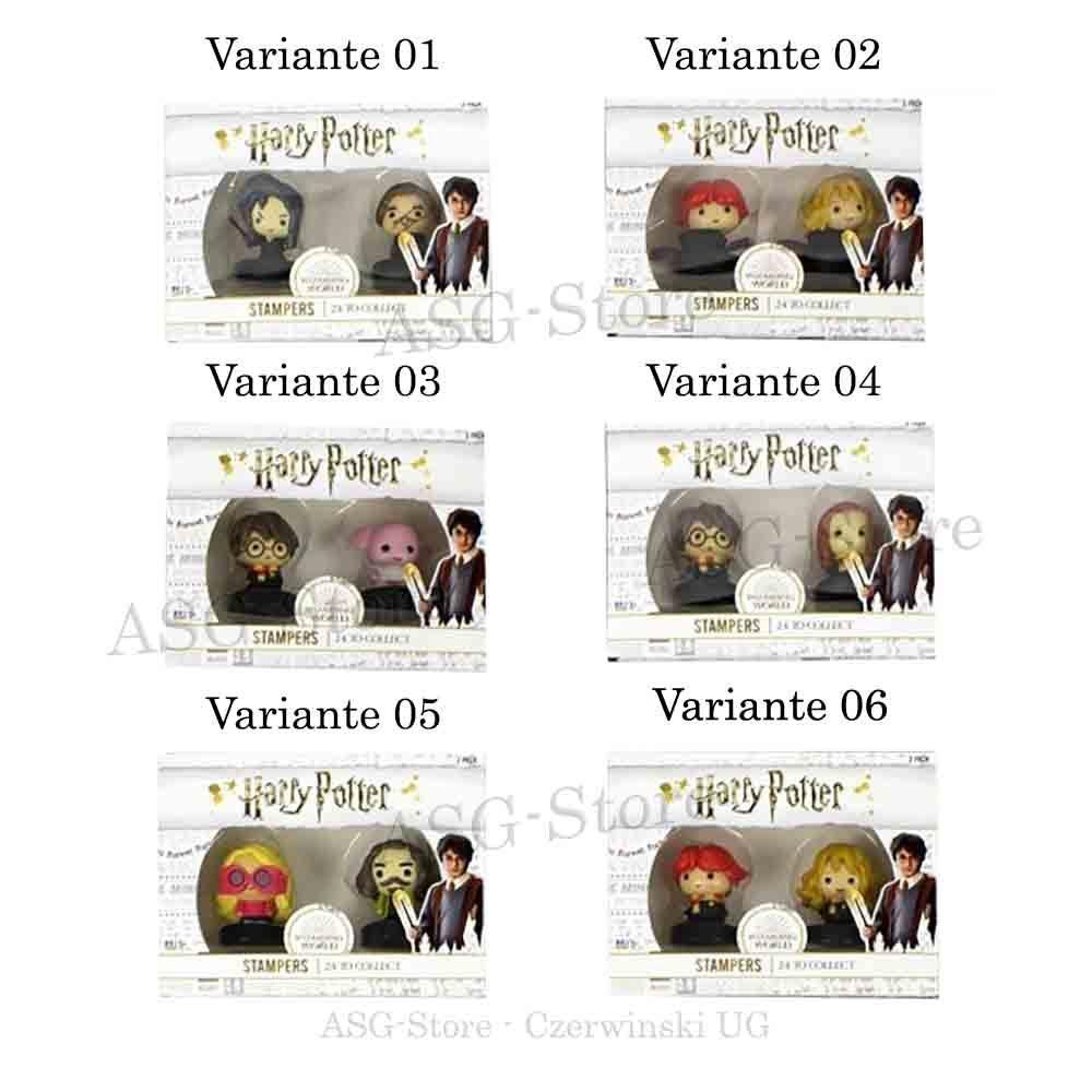 Harry Potter Stempel im 2er Pack Set 1-6