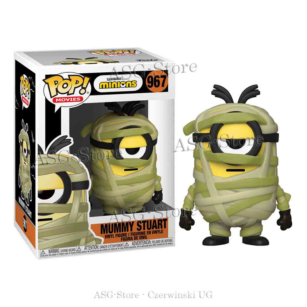 Funko Pop Movies 967 Minions Mummy Stuart