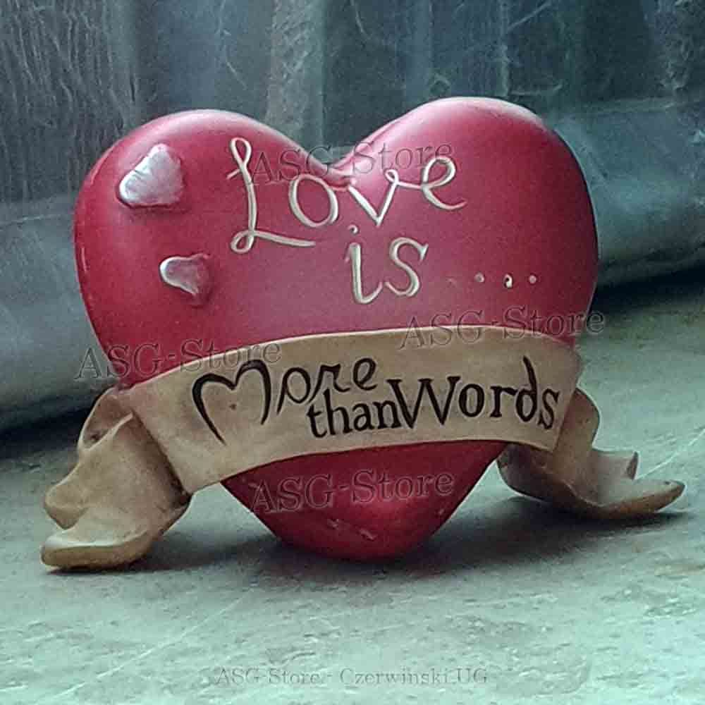 """Herz """"Love is..."""" More than words"""