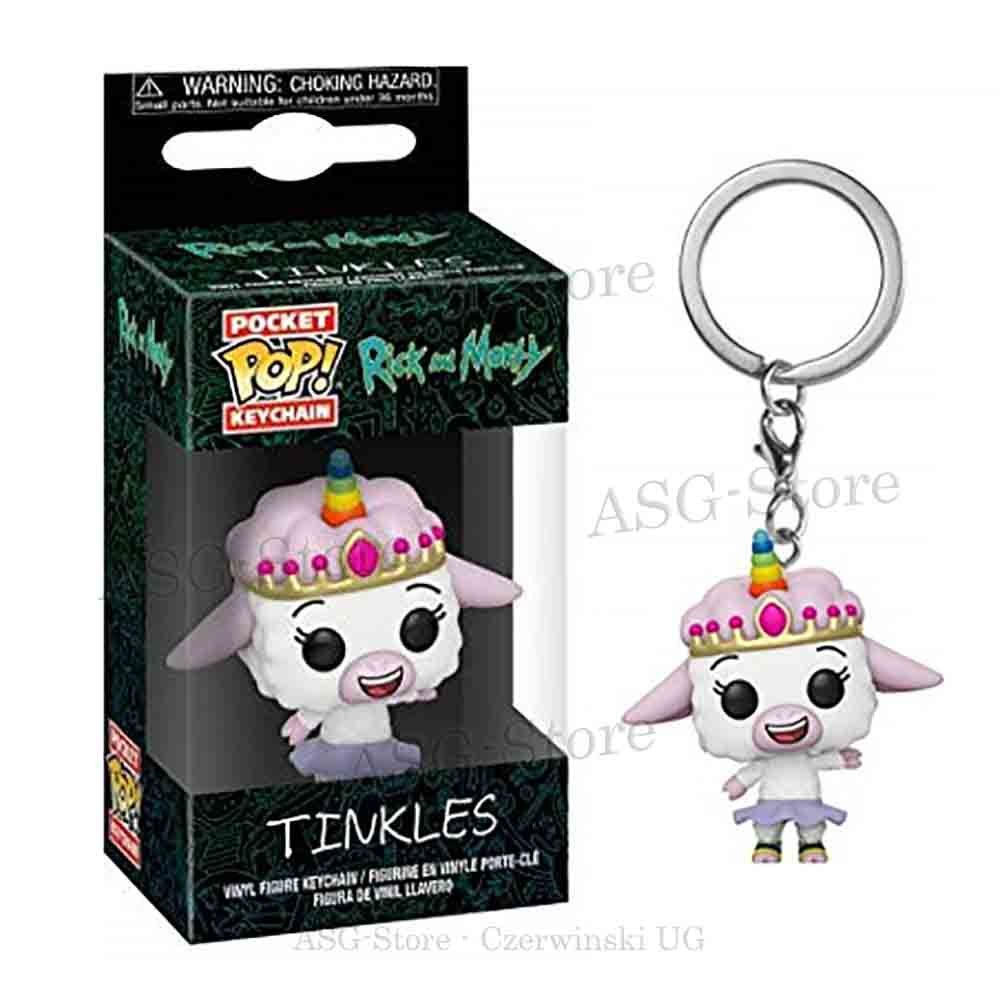 Funko Pocket Pop Keychain Rick and Morty Tinkles