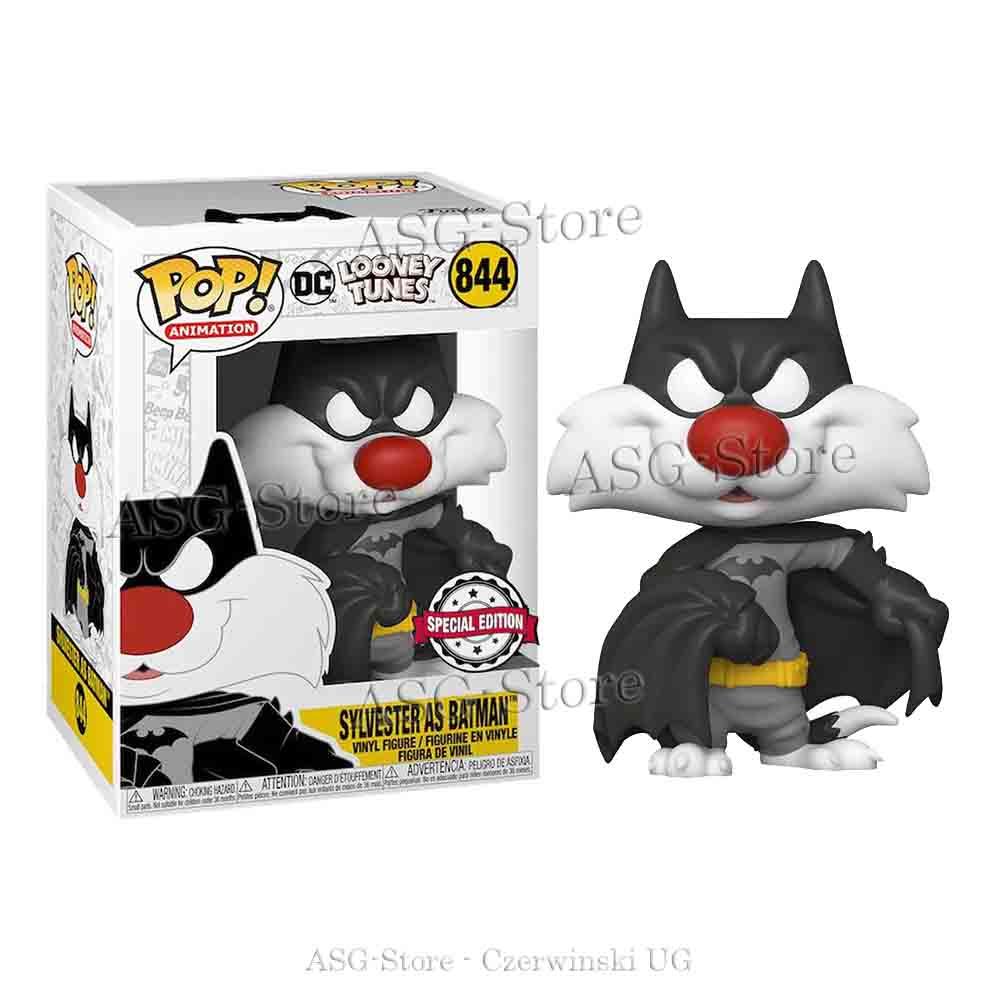 Funko Pop Animation 844 Looney Tunes Sylvester als Batman