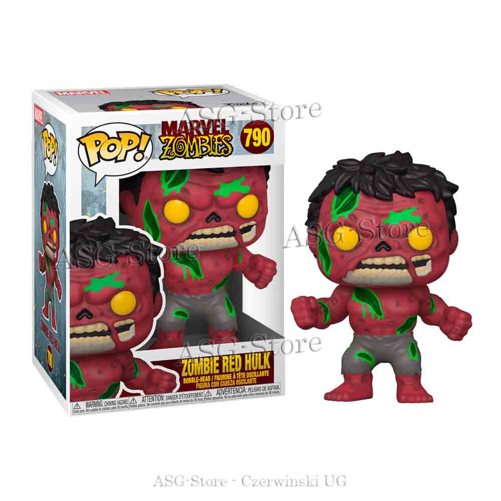 Funko Pop Marvel 790 Zombie Red Hulk