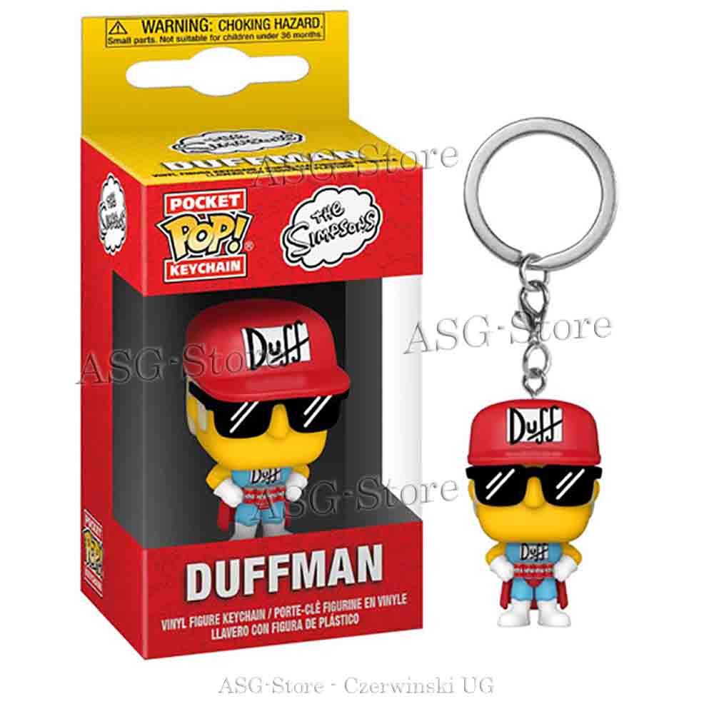 Funko Pocket Pop Keychain die Simpsons Duffman