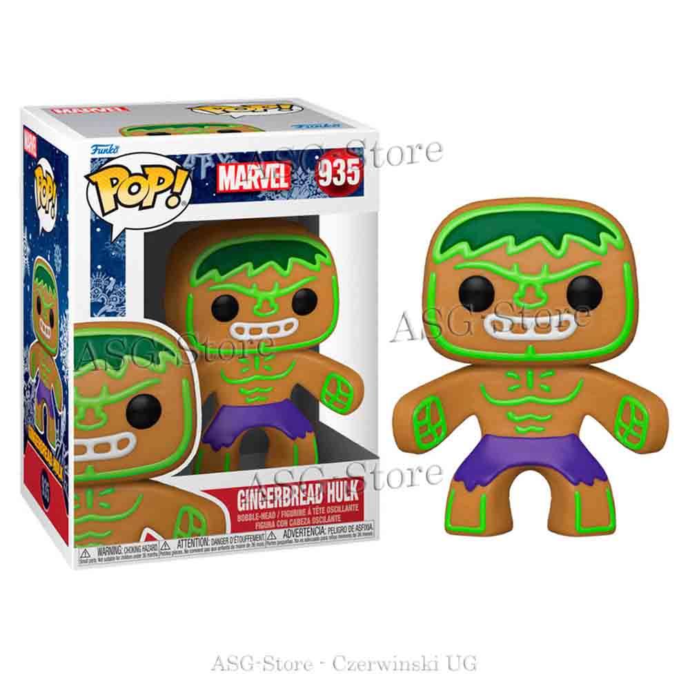 Funko Pop Marvel Holiday 935 Gingerbread Hulk