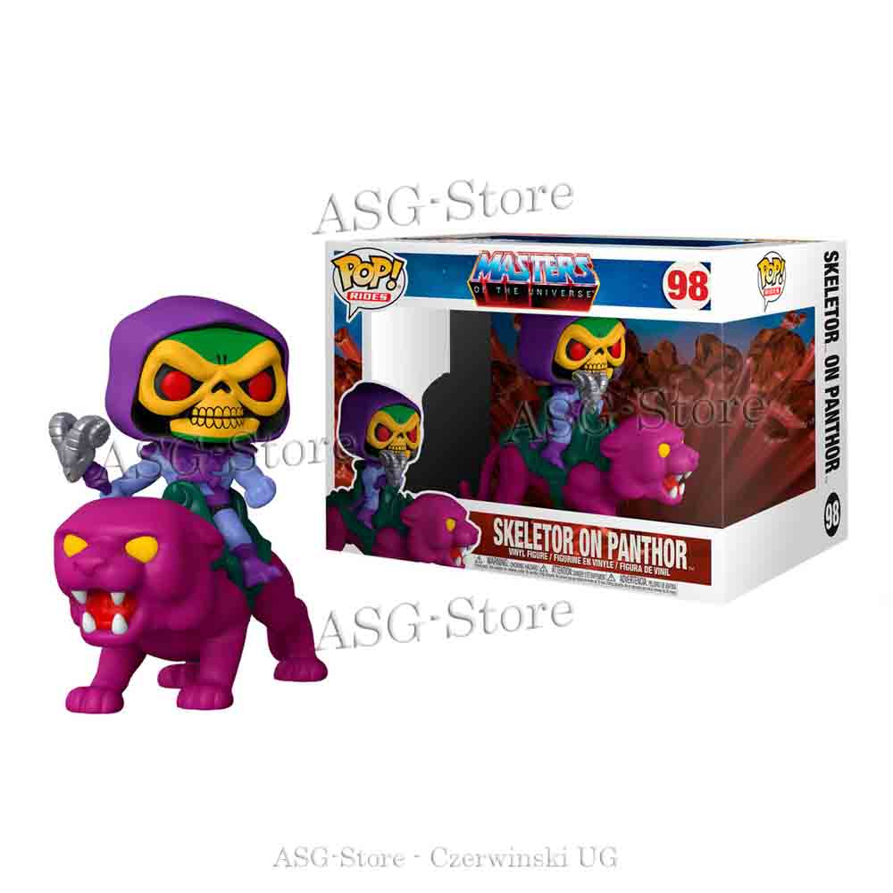 Funko Pop Rides 98 Masters of the Universe  Skeletor on Panthor