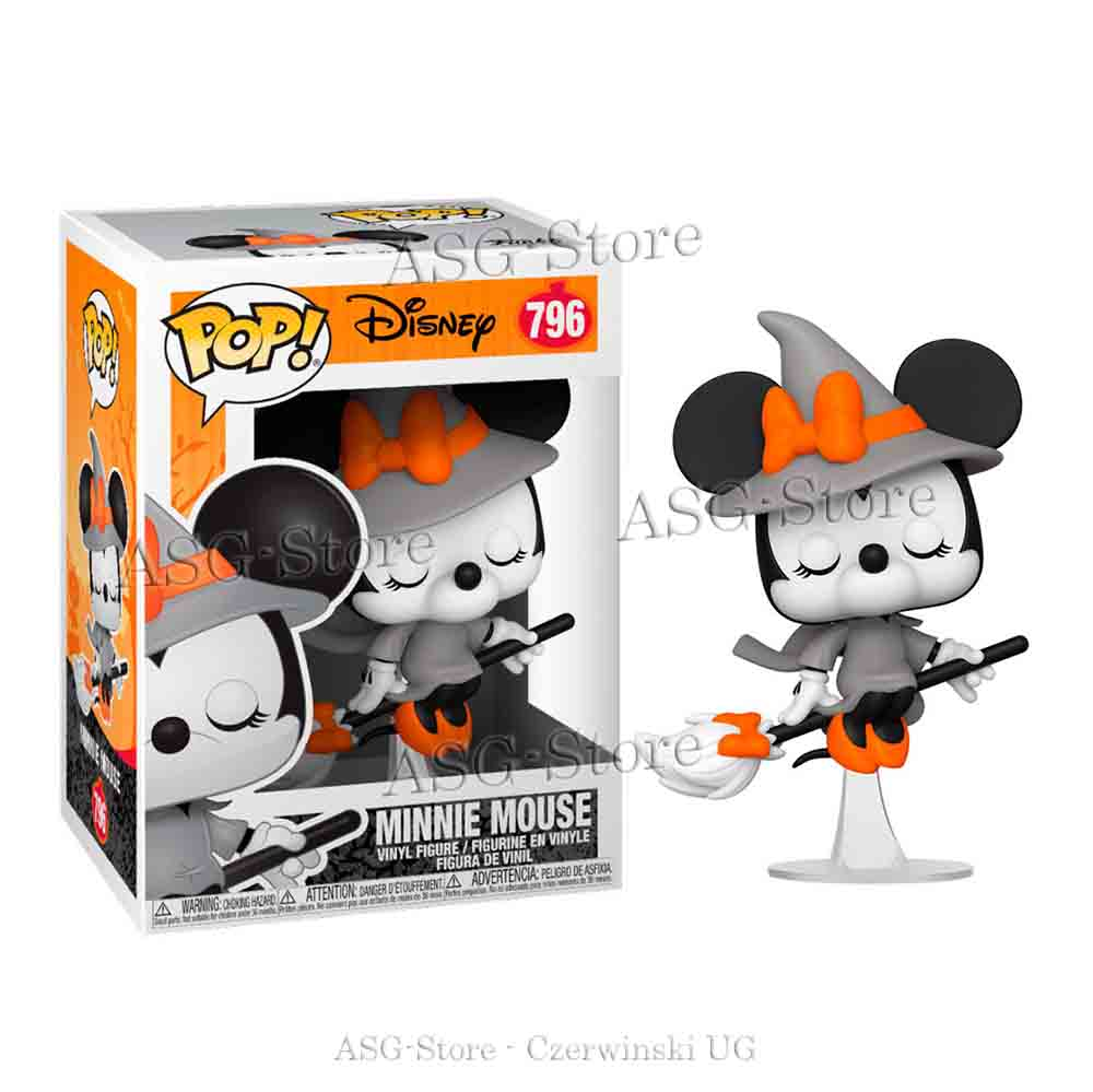 Funko Pop Disney 796 Halloween Witchy Minnie Mouse