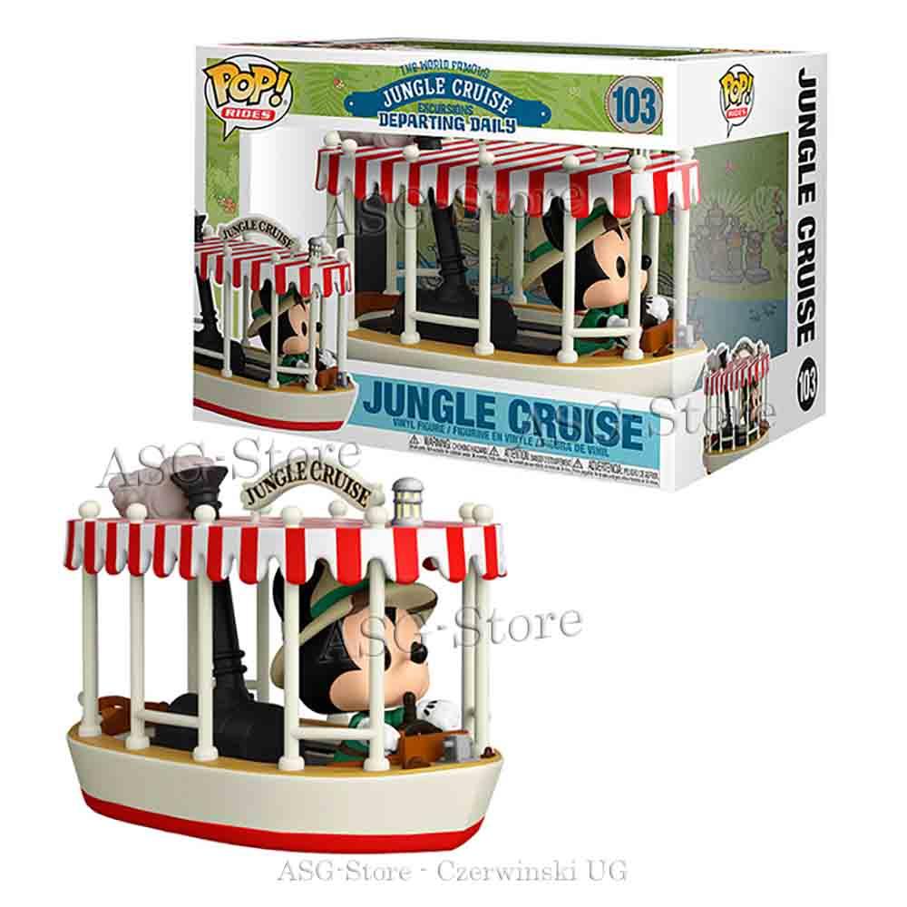 Funko Pop Rides 103 Walt Disney Mickey Mouse Jungle Cruise