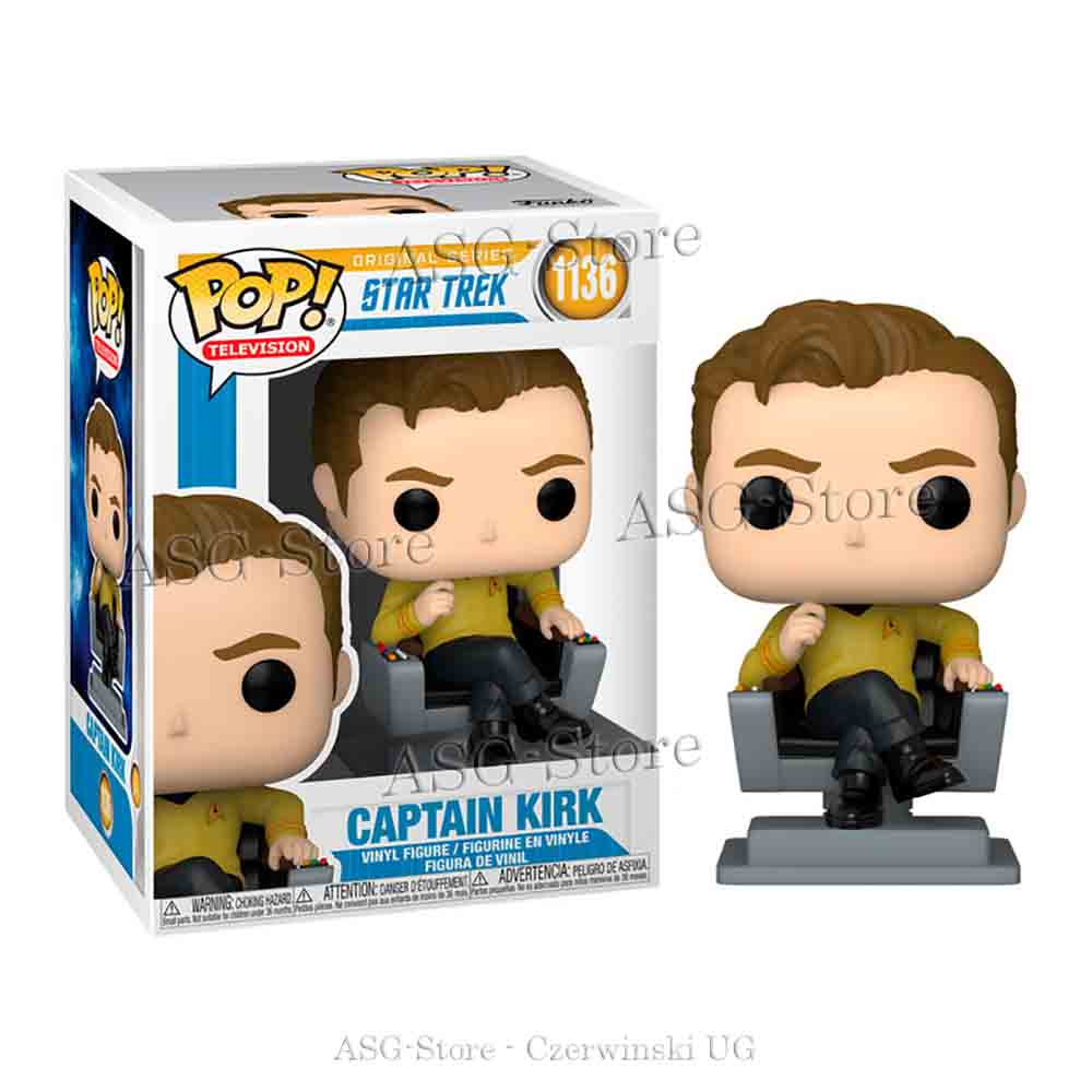 Funko Pop Television 1136 Star Trek Captain Kirk