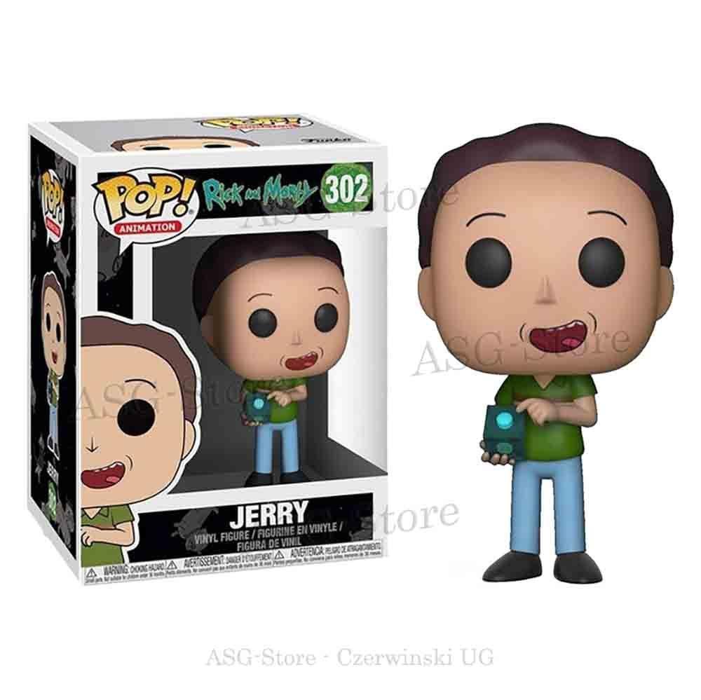 Funko Pop Animation 302 Rick & Morty Jerry