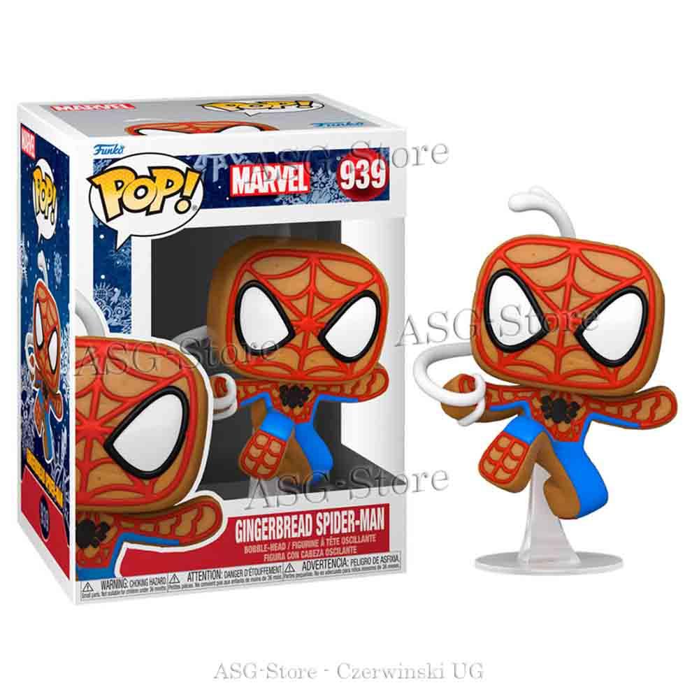Funko Pop Marvel Holiday 939 Gingerbread Spiderman