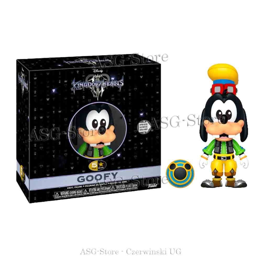 Funko 5 Star Figur Kingdom Hearts Goofy
