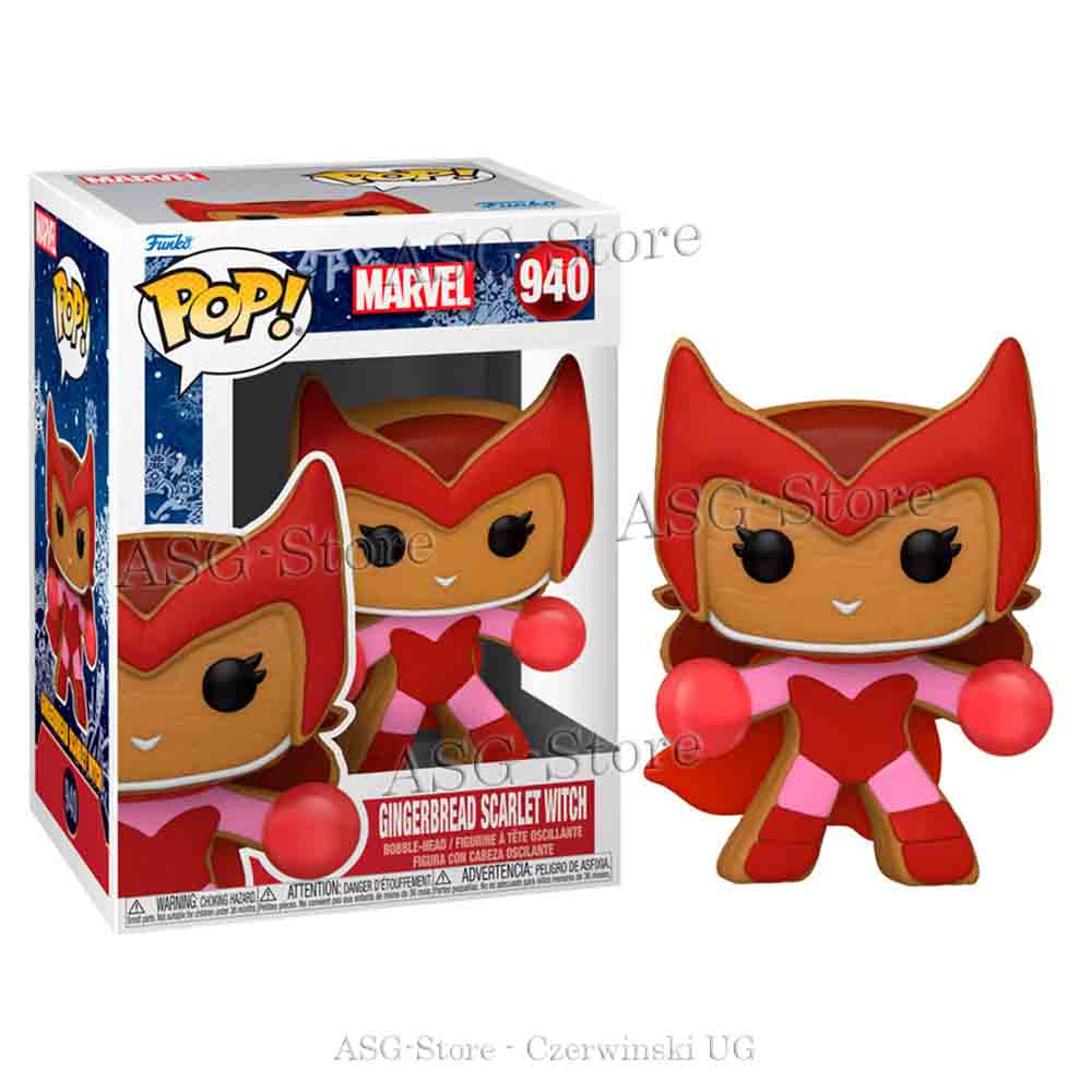 Funko Pop Marvel Holiday 940 Gingerbread Scarlet Witch