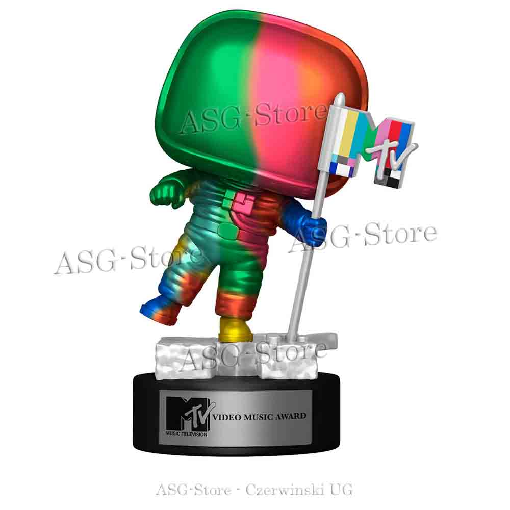 Funko Pop Icons 18 MTV Moon Person Rainbow