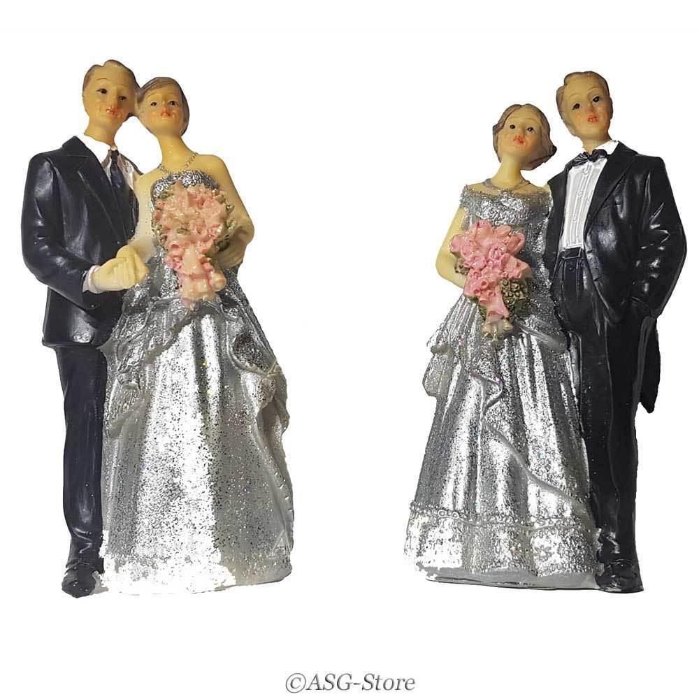 Hochzeitspaar zur Silberhochzeit