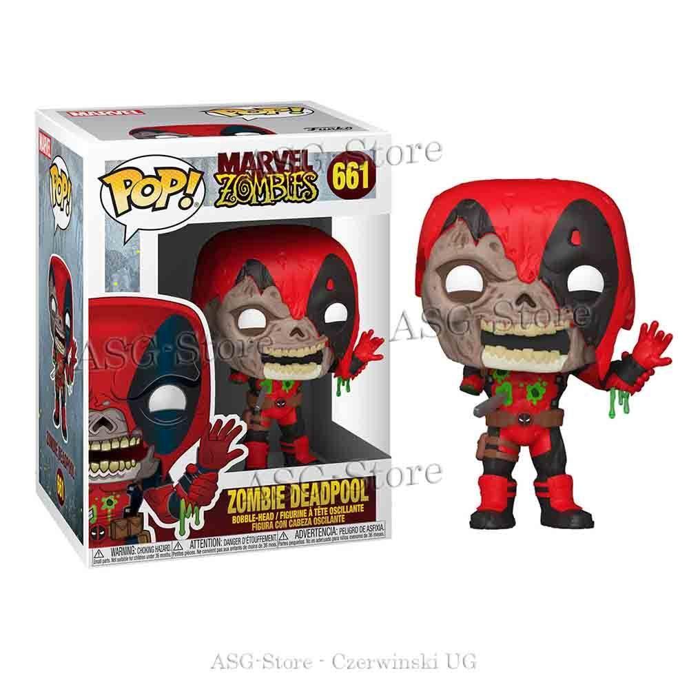 Funko Pop Marvel 661 Zombie Deadpool
