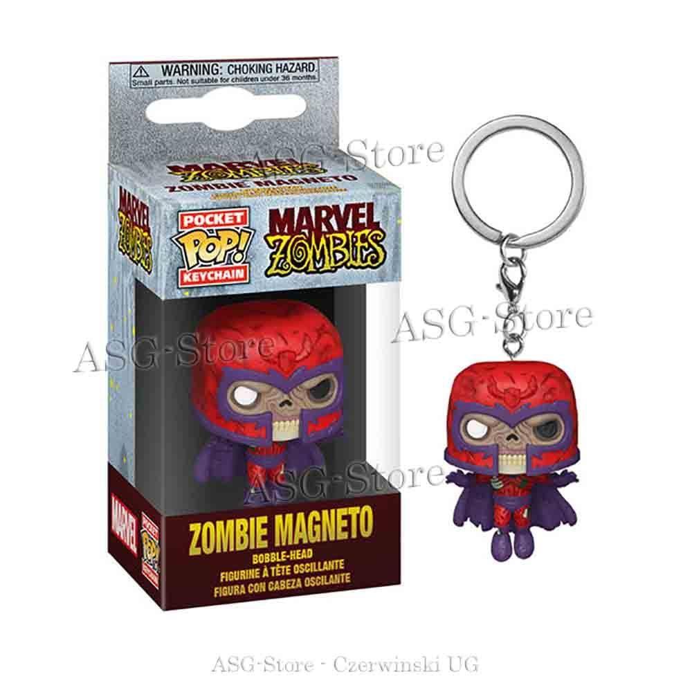 Funko Pocket Pop Keychain Marvel Zombie Magneto