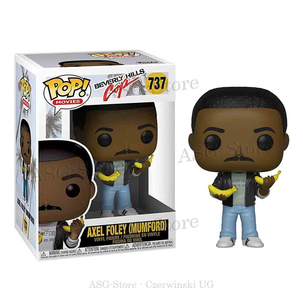 Funko Pop Movies 737 Beverly Hills Cop Axel Foley (Mumford)
