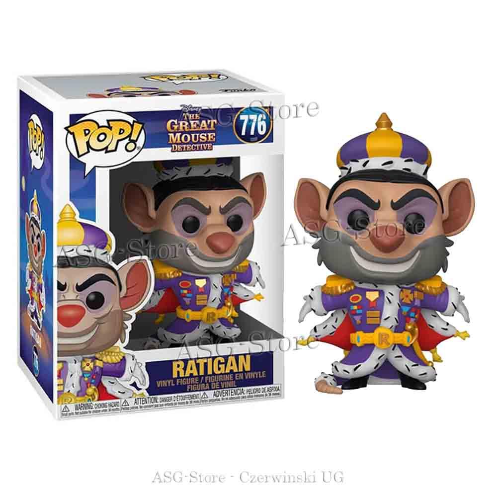 Funko Pop Disney 776 The Great Mouse Detective Ratigan