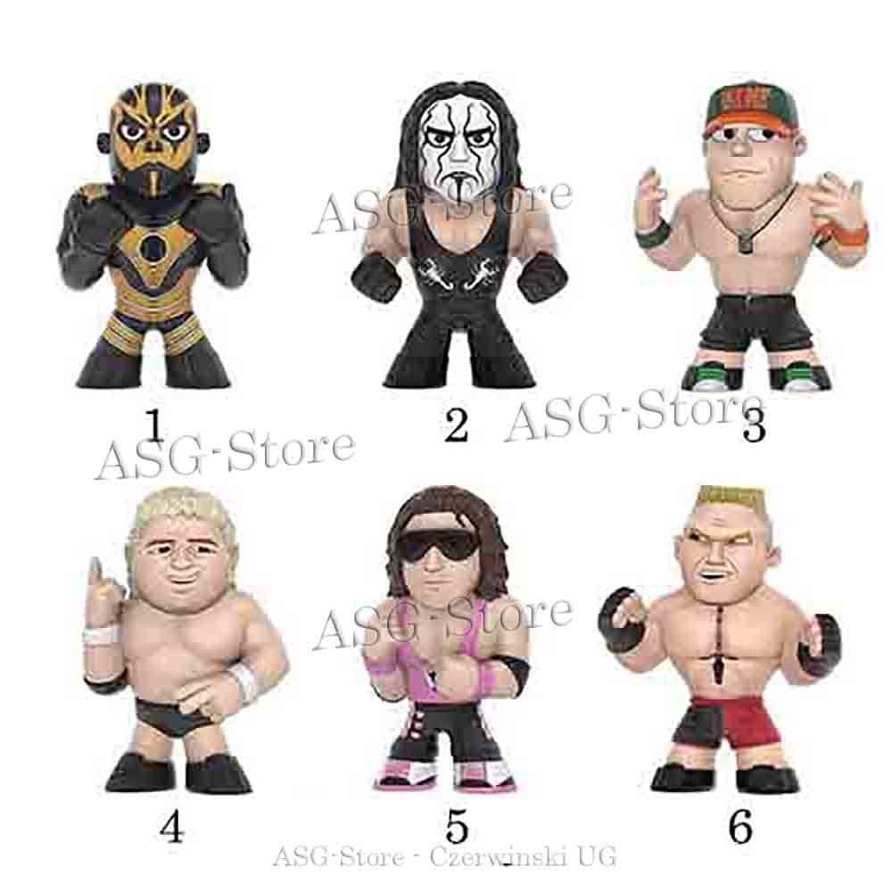 Wrestling Figuren von Funko Mystery Minis SET 1