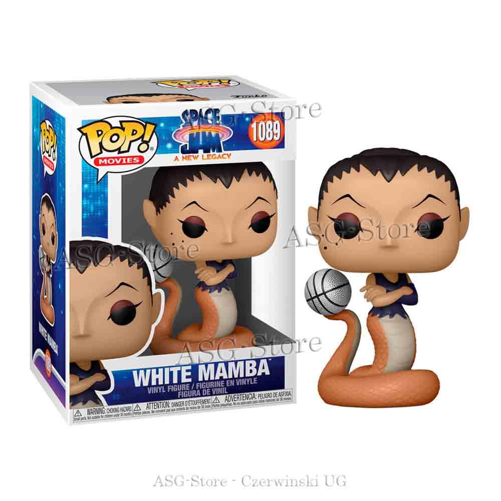 Funko Pop Movies 1089 Space Jam 2 White Mamba