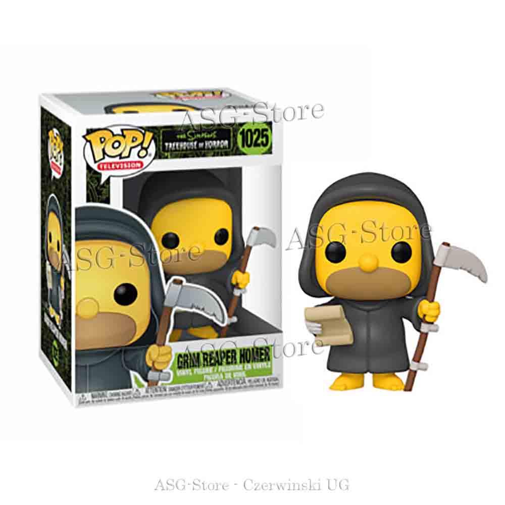 Funko Pop Television 1025 die Simpsons Grim Reaper Homer