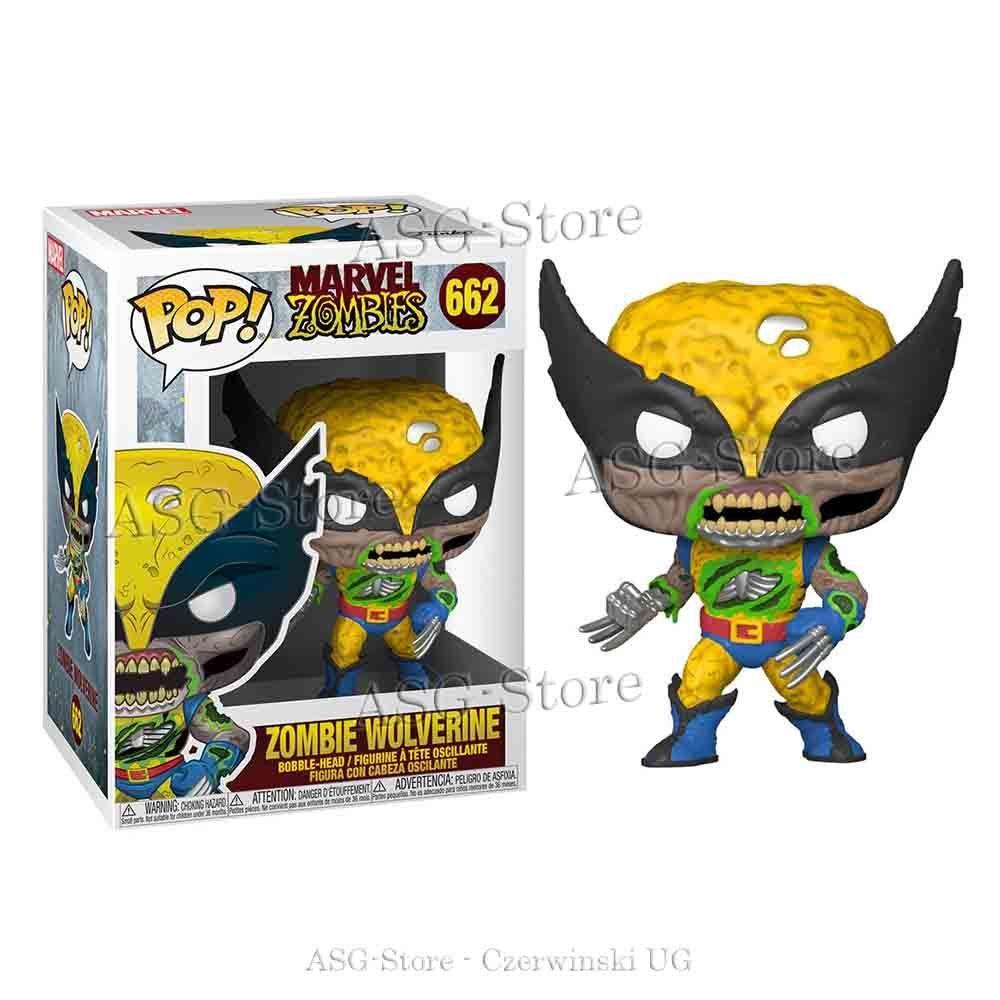Funko Pop Marvel 662 Zombies Zombie Wolverine