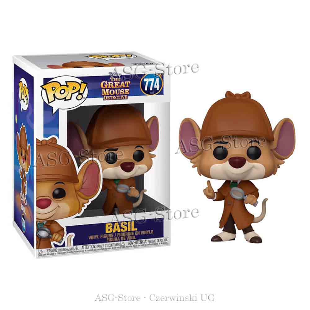 Funko Pop Disney 774 The Great Mouse Detective Basil