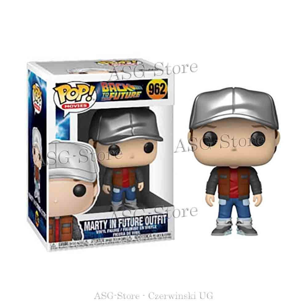 Funko Pop Movie 962 Back to the Future Marty in Future Outfit