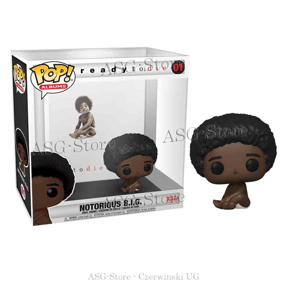 Funko Pop Albums 01 ready to die Notorious B.I.G.