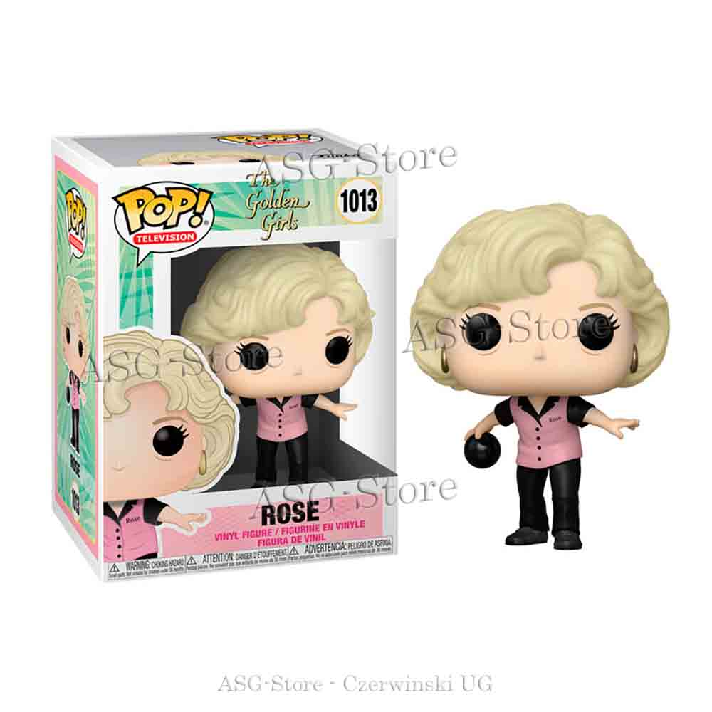Funko Pop Television 1013 The golden Girls Bowling Rose