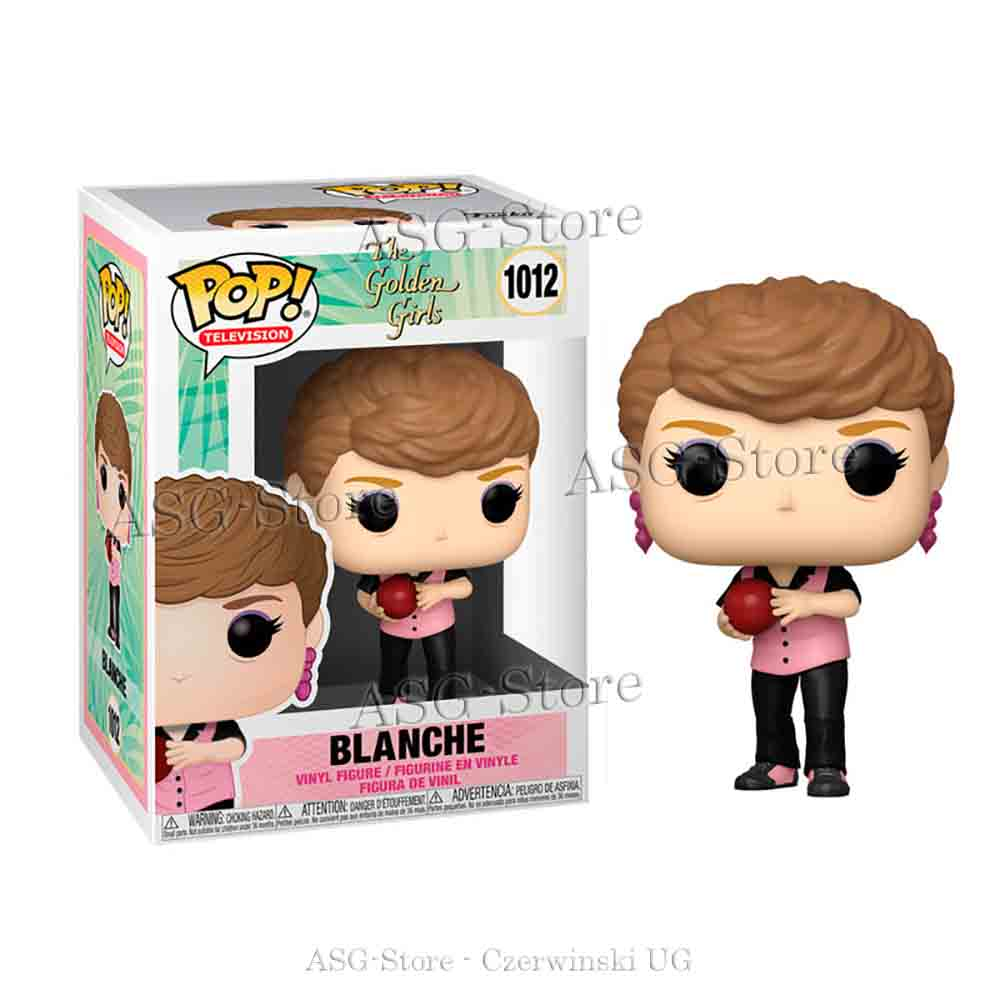 Funko Pop Television 1012 The golden Girls Bowling Blanche