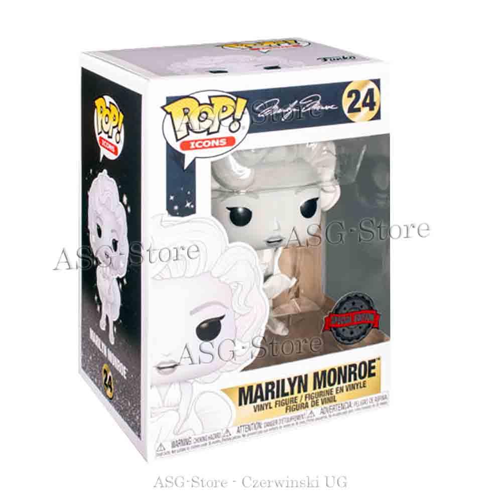 Funko Pop Icons 24 Marilyn Monroe Special Edition