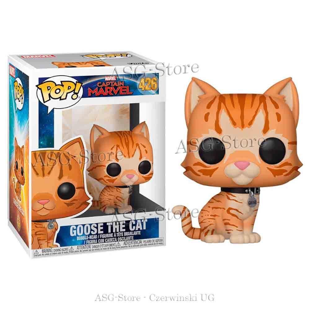 Funko Pop Marvel 426 Captain Marvels Goose the Cat
